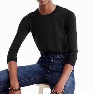 J.Crew Tippi Merino Black Pullover Sweater